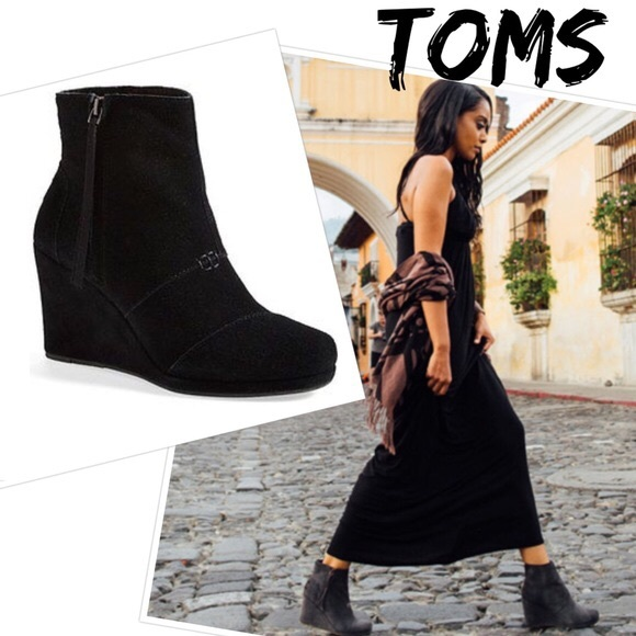 Toms Womens Desert High Ankle Boots